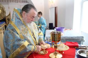 В Знаменском монастыре прошли поминальные богослужения по случаю 4-летия со дня преставления игумении Георгии
