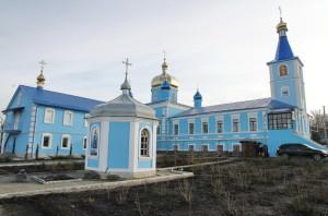 Зимнее престольное торжество Знаменского женского монастыря